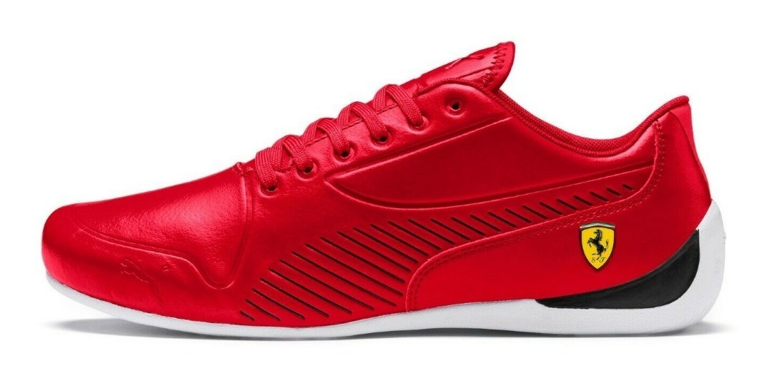 Tenis Puma Drifcat 7s Ultra Rojo Ferrari Hombre Nuevo