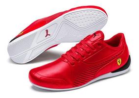 tenis puma hombre rojos
