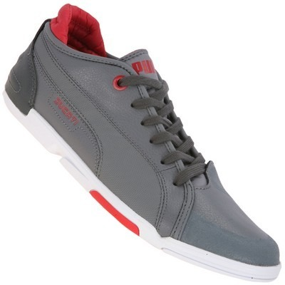 Tenis Puma Ducati Xelerate Choclo Piel Gris Adulto Low Gym ... 9a8dfc6793971