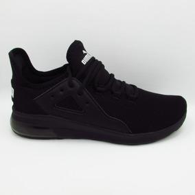 Tenis Puma Electron Street 367309 01 Black Negro Softfoam