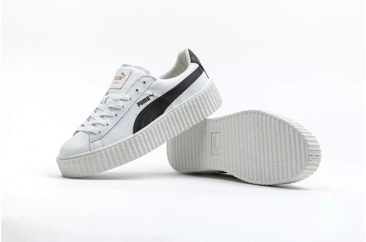 new concept 48906 c226c Tenis Puma Fenty Creeper White & Black Talla 26cm(amplios)
