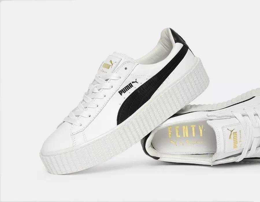 new concept 66f66 0f232 Tenis Puma Fenty Creeper White & Black Talla 26cm(amplios)