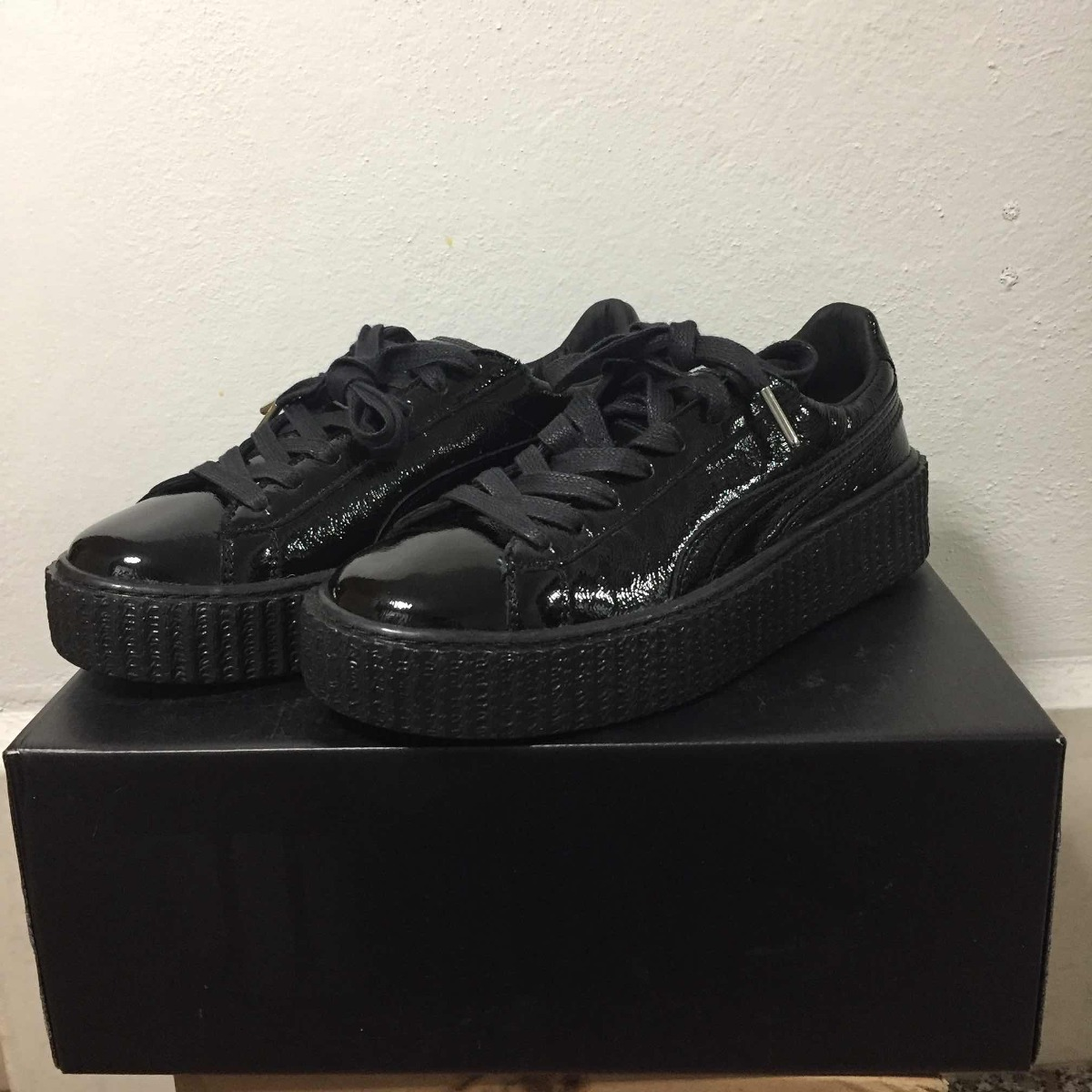 the best attitude a9de5 629a5 Tenis Puma Fenty Rihanna Creepers Cracked Leather Originales