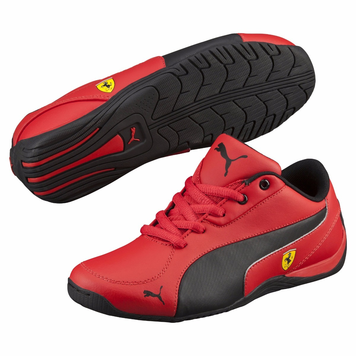 ... new zealand tenis puma ferrari drift cat 5 sf 23.5 rojo negro 36096903.  cargando zoom 6707a98b670