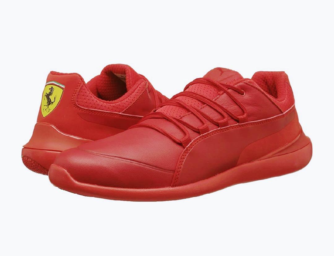 7480a1aa557 tenis puma ferrari evo rojos originales de piel  29. Cargando zoom.