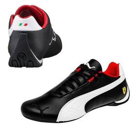 6029f7a40 Tenis Puma Ferrari Future Cat Og Casuales Hombre Negro Piel
