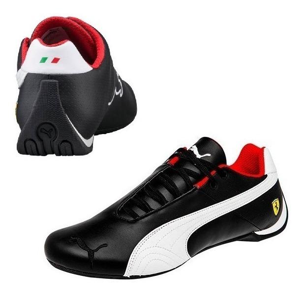Tenis Puma Ferrari Future Cat Og Casuales Hombre Negro Piel