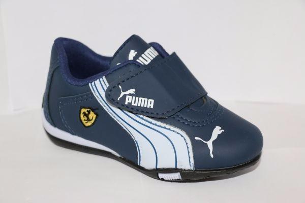 Tenis Puma Ferrari Infantil Menino Estilo Moda 25 Ao 34 - R  53 22c251a6b4686