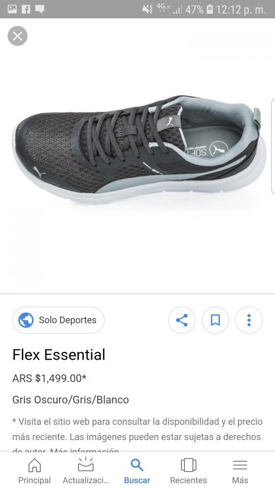 tenis puma flex essential. negro y blanco gebbe5514c
