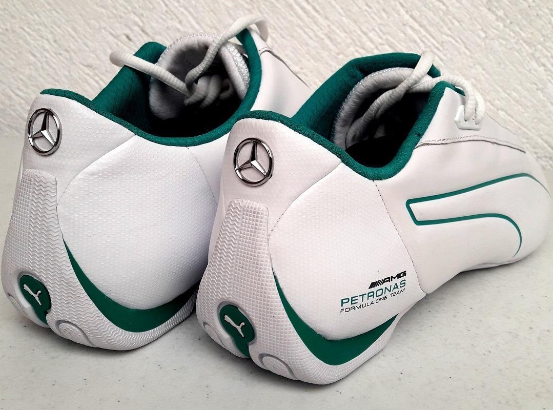 e1ac9e393 Tenis Puma Future Cat S2 Mercedes Petronas Blanco Verde - $ 2,299.00 ...
