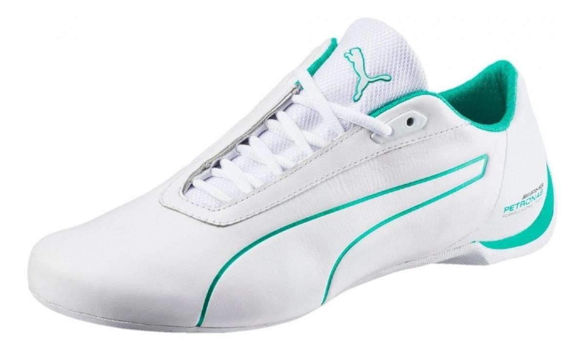 825d5c825 Vender uno igual. tenis puma future cat s2 mercedes petronas blanco verde.  Cargando zoom.