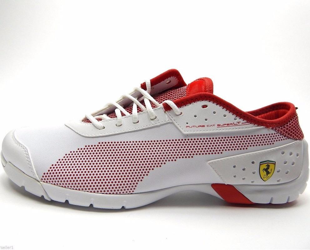 d984a92eed tenis puma future cat super lt ferrari blanco y rojo. Cargando zoom.