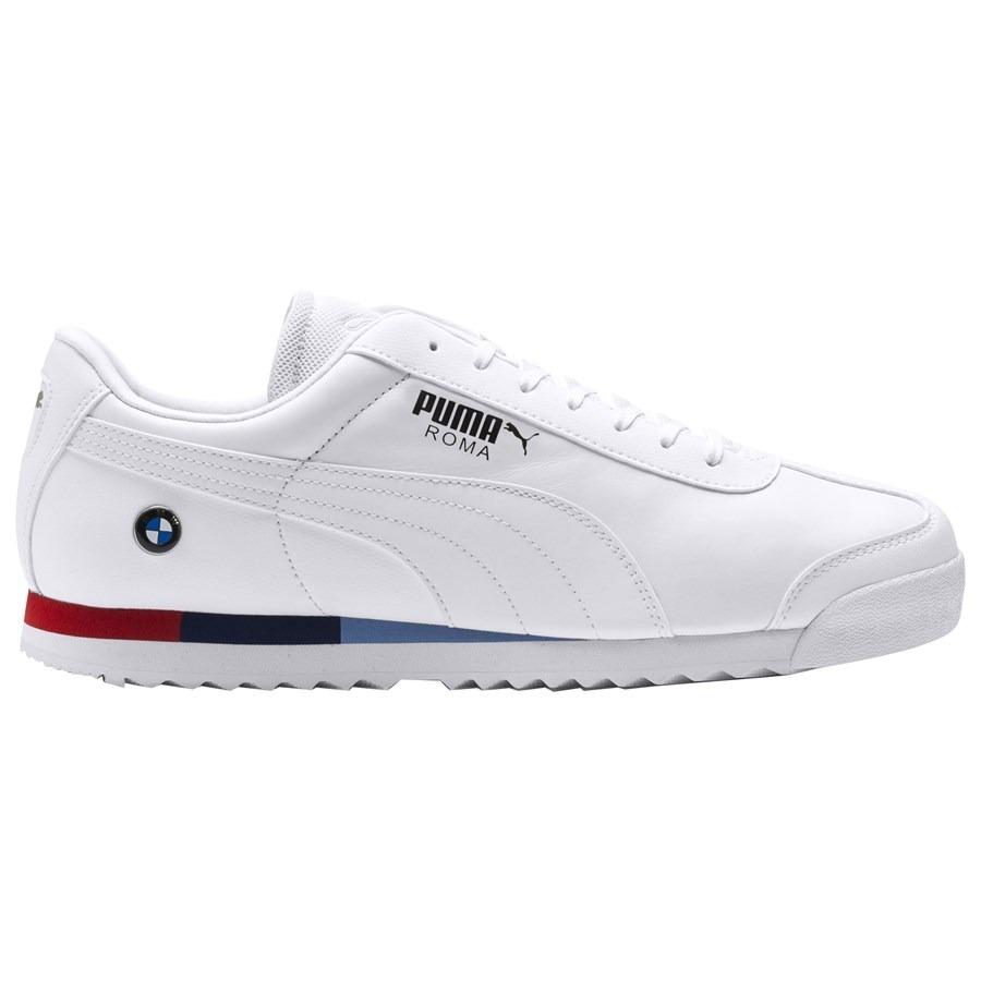be1f02c7 Tenis Puma Hombre Blanco Bmw Mms Roma 30619504 - $ 1,999.00 en ...