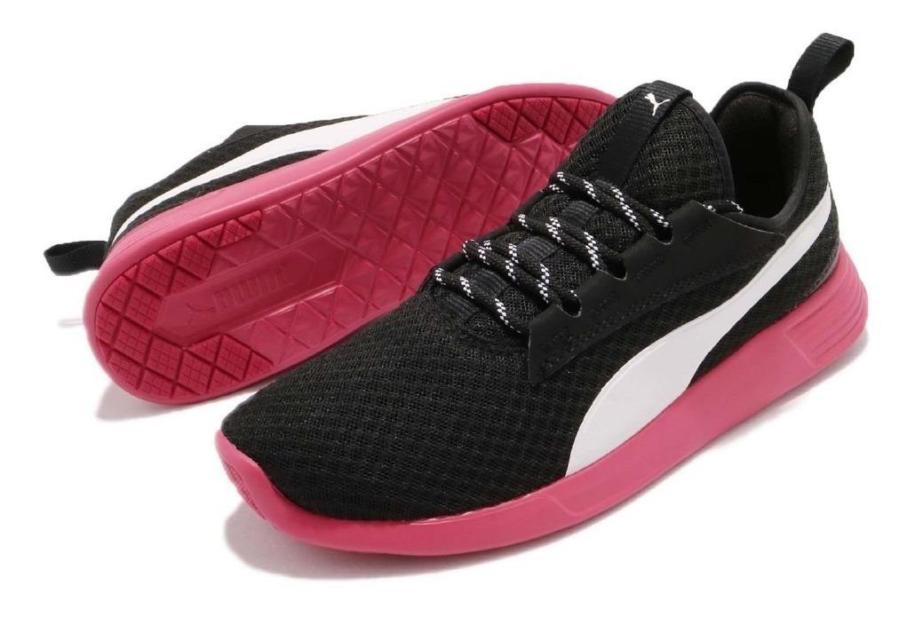 zapatillas negros puma mujer