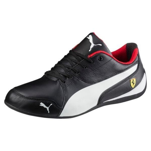 4c6387340e930 Tenis Puma Originales Ferrari Drift Cat 7 Trainers Negros ...