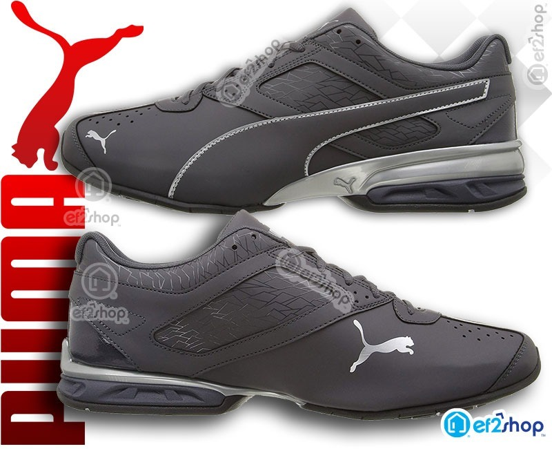 Tenis Puma Originales Gym Entrenamiento Training Casuales Crossfit Run  Tazon6 Hombre Gris Originales