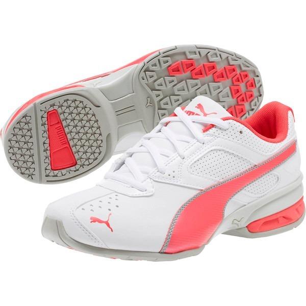 tenis puma mujer running rosa