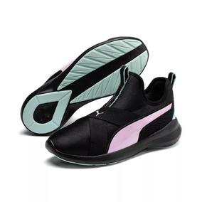 bajo precio 48907 09205 Tenis Puma Rebel Mid Negro Mujer 369136-01 Look Trendy