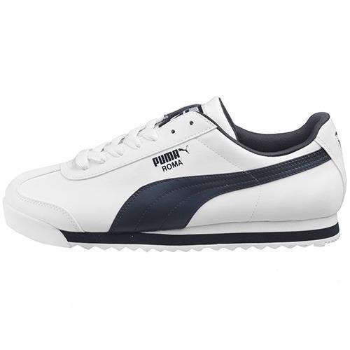 df1f002d2 Tenis Puma Roma Basic Blanco Marino 353572 12 - $ 1,599.00 en ...