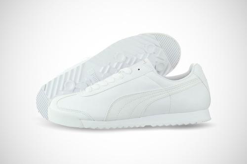 tenis puma roma  basic white