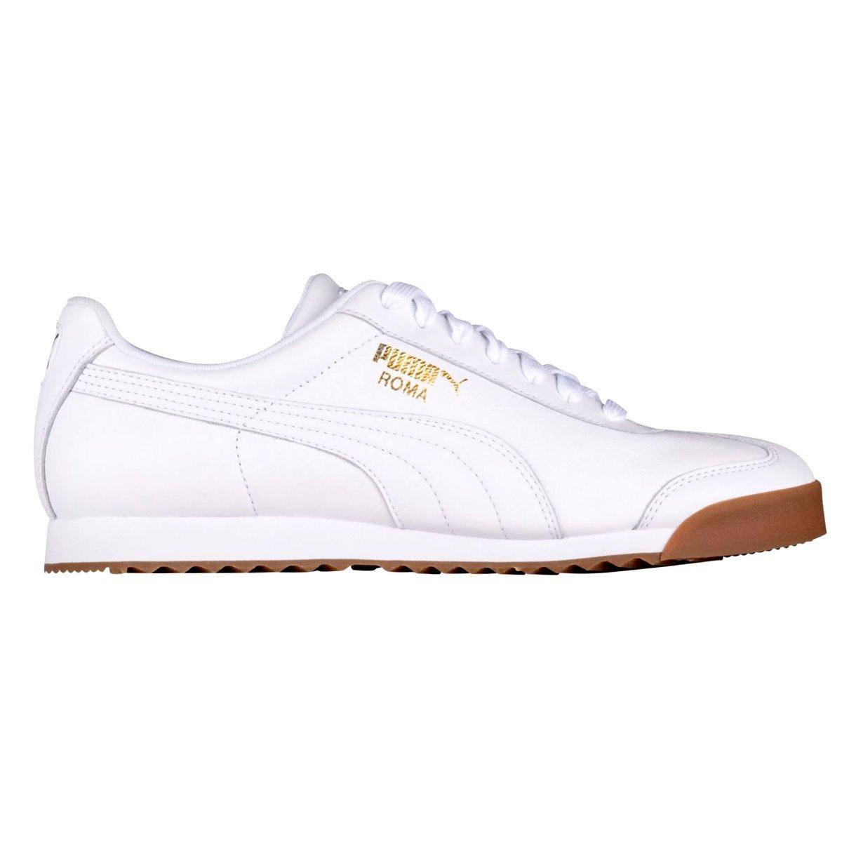 tenis puma roma classic gum  blanco 100% original en caja. Cargando zoom. cf11cdcb22539