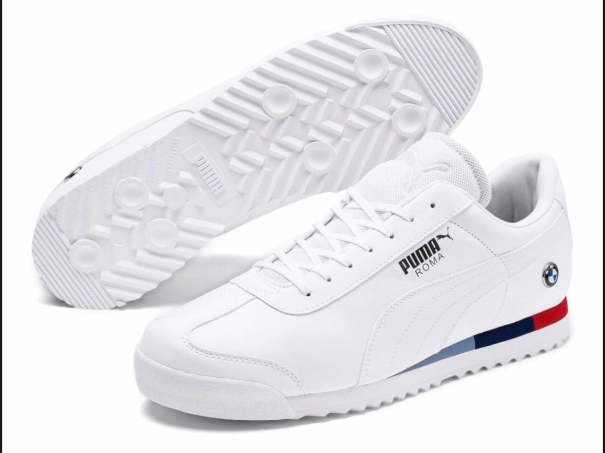 Calidad superior estilo de moda nuevo estilo Tenis Puma Roma Edición Ilimitada Bmw Blancos - $ 1,200.00