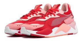zapatillas rojas puma mujer