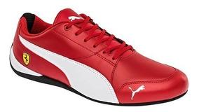 tenis puma rojos hombre