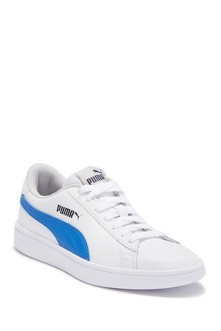 f77e2fef78c Tenis Puma Smash V2 Blanco azul Mujer 36517007 -   1