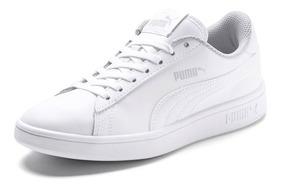 tenis puma blancos mujer