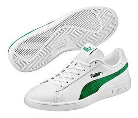 tenis puma smash verde