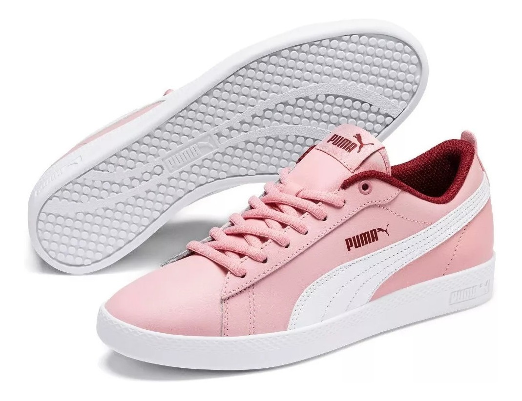 zapatillas rosa puma mujer