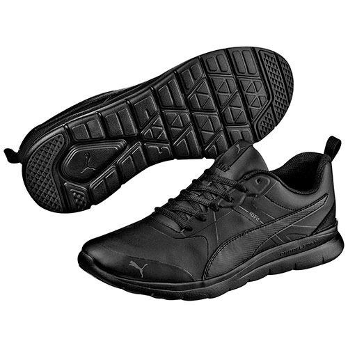 tenis puma sneaker flex running niños sint negro h36338 dtt