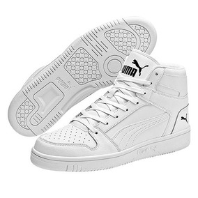 f87373556 Tenis Puma Sneaker Rebound Bota Hombre Sint Blanco 80438 Dtt