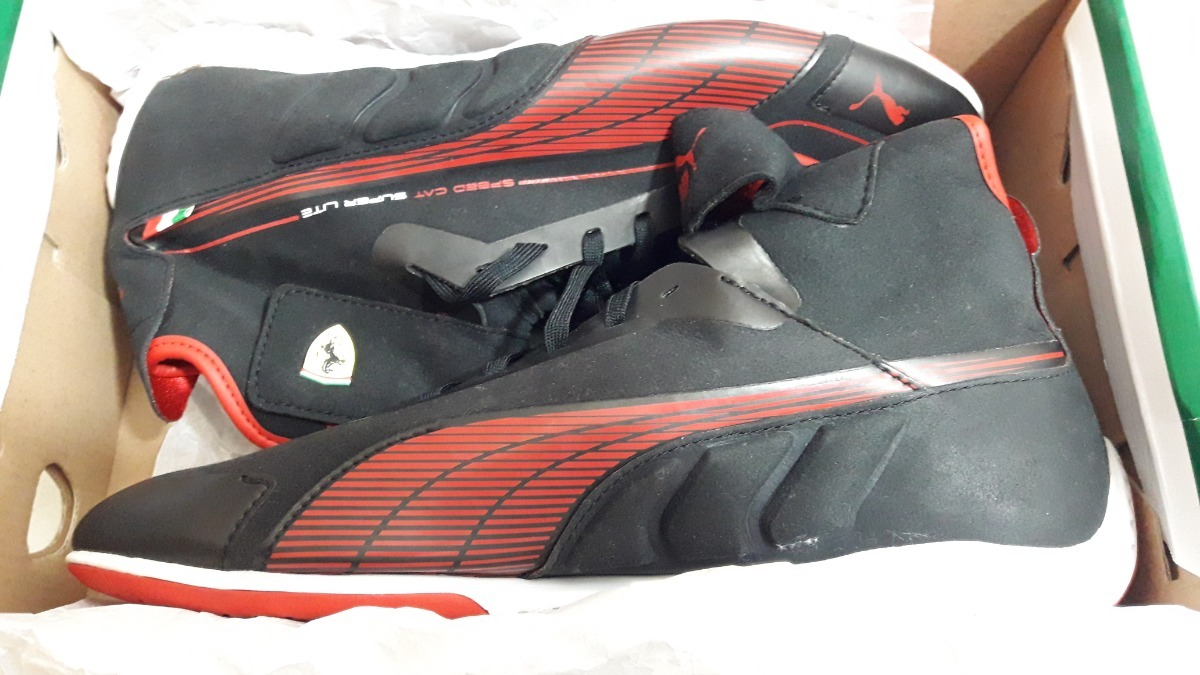 0a729441 tenis puma speed cat ferrari super lite bota negro rojo gym. Cargando zoom.