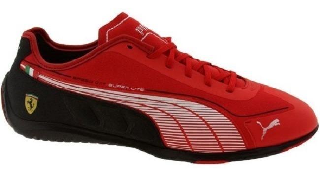meilleures baskets 3a480 314f0 Tenis Puma Speed Cat Super Lite Ferrari Rojo Negro Gym