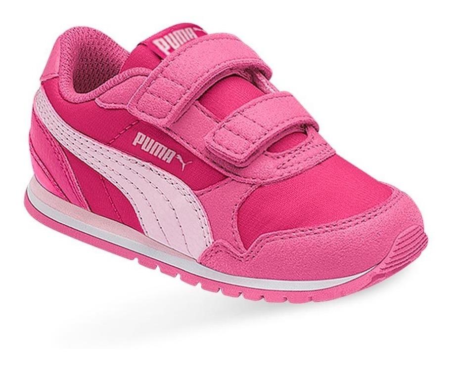 puma rosa niña