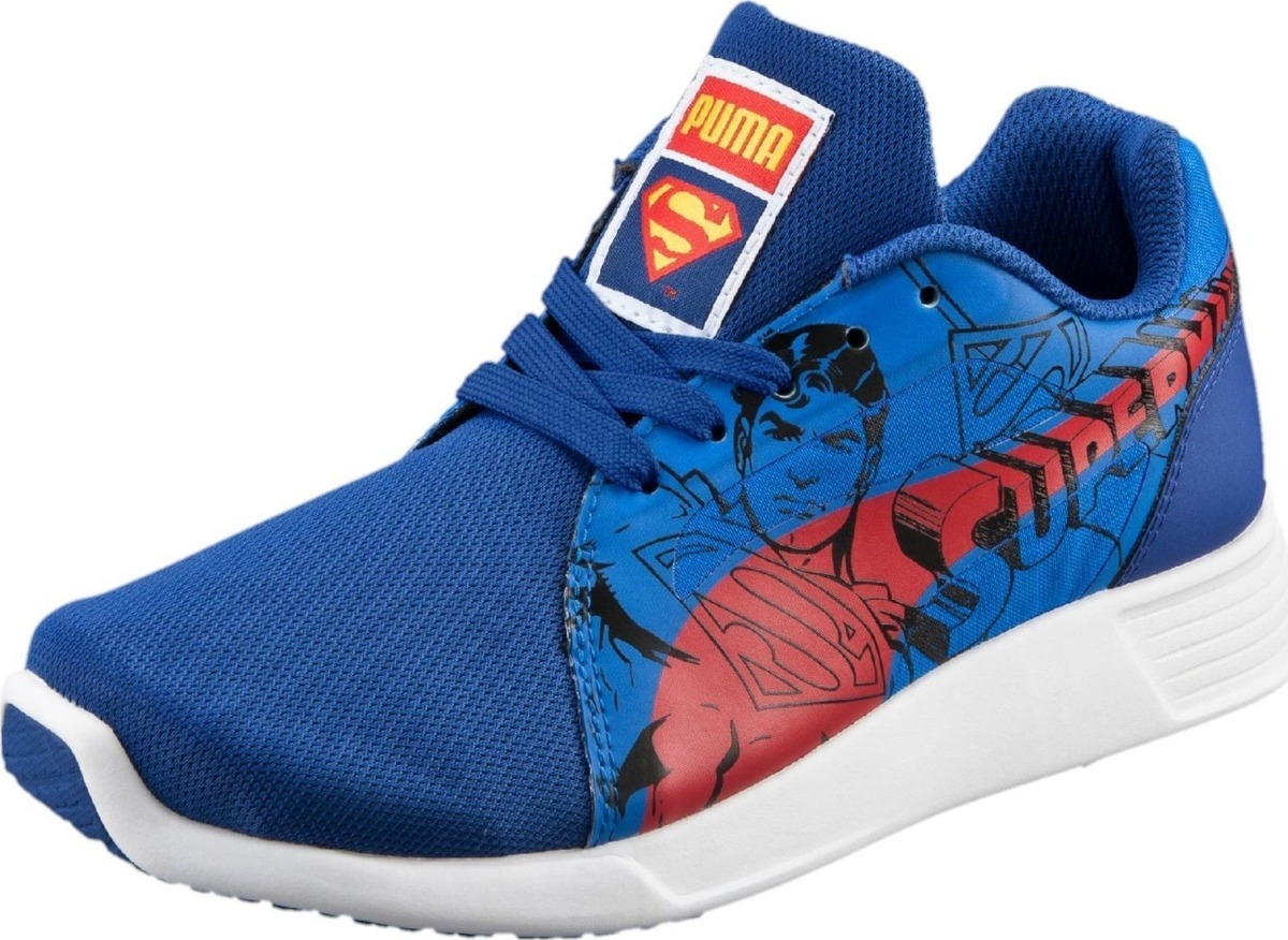 ab2741a2fa0 tenis puma st trainer evo superman jr. casuales azul 40-01. Cargando zoom.