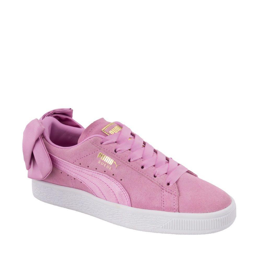 tenis mujer puma rosa