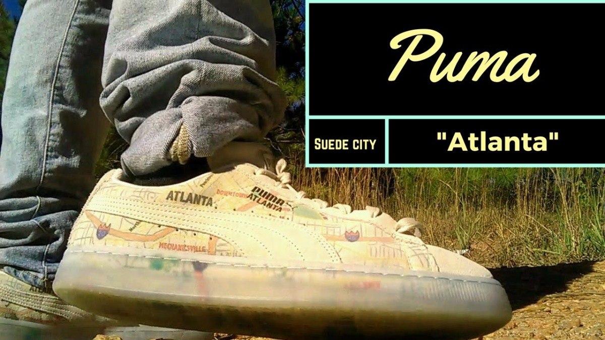 puma suede city