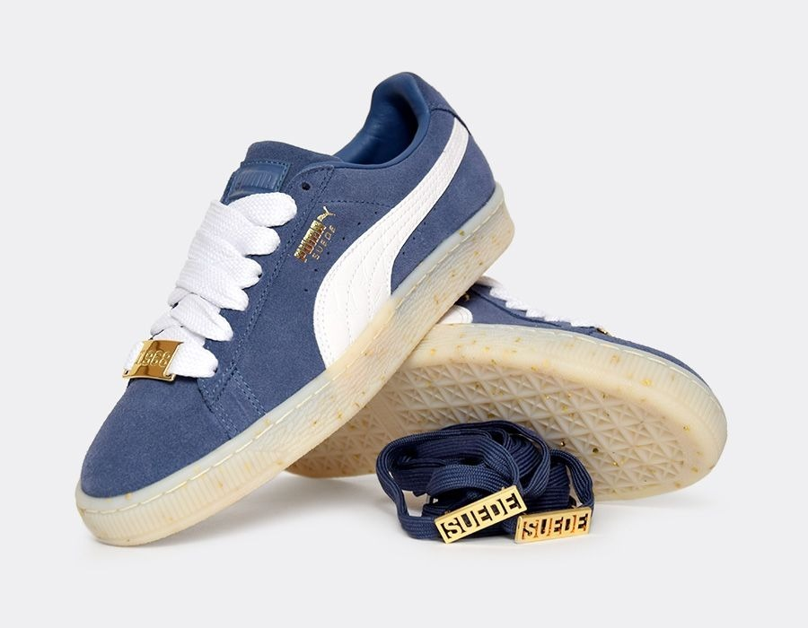 low priced 7a9d1 45421 Tenis Puma Suede Classic Bboy Fab Azules Gamuza Dama A Meses