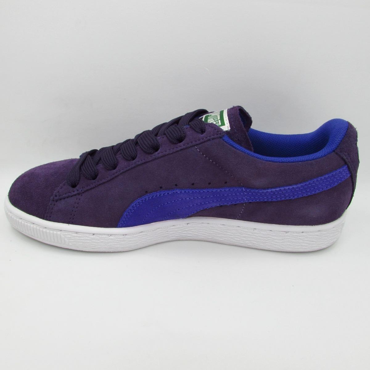 puma suede purple
