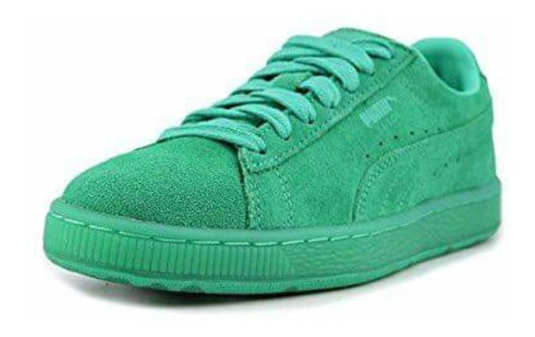 en venta 7d936 5963d Tenis Puma Suede Color Verdes Nuevos