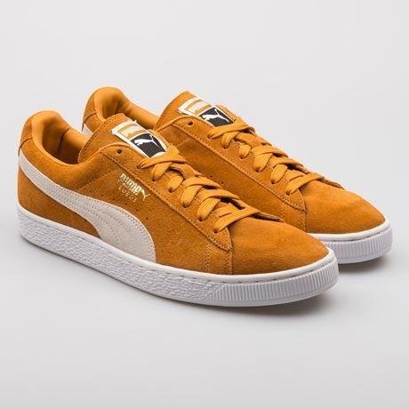 look for dfd78 e11f0 Tenis Puma Suede Inca Gold Amarelo 100% Original