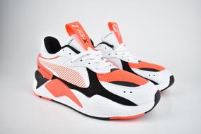 lindo baratas precios de remate disfruta de un gran descuento Tenis Puma Toys Rs-x Blanco Naranja + Envío Gratis