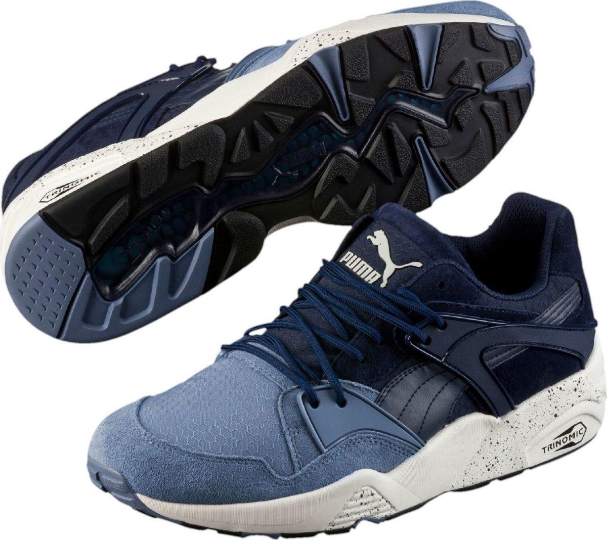 sale retailer 12ef6 64267 Tenis Puma Trinomic Blaze Of Glory Blue/blue Nasotafi2