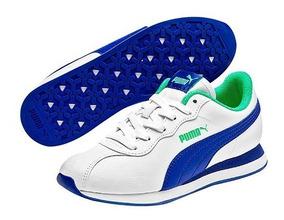 Tenis Puma Turin Ll Blanco Tallas Del #22 Al #25 Mujer Ppk