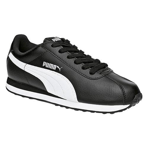 Tenis Puma Turin Negro Con Blanco Tallas #22 Al #25 Mujer