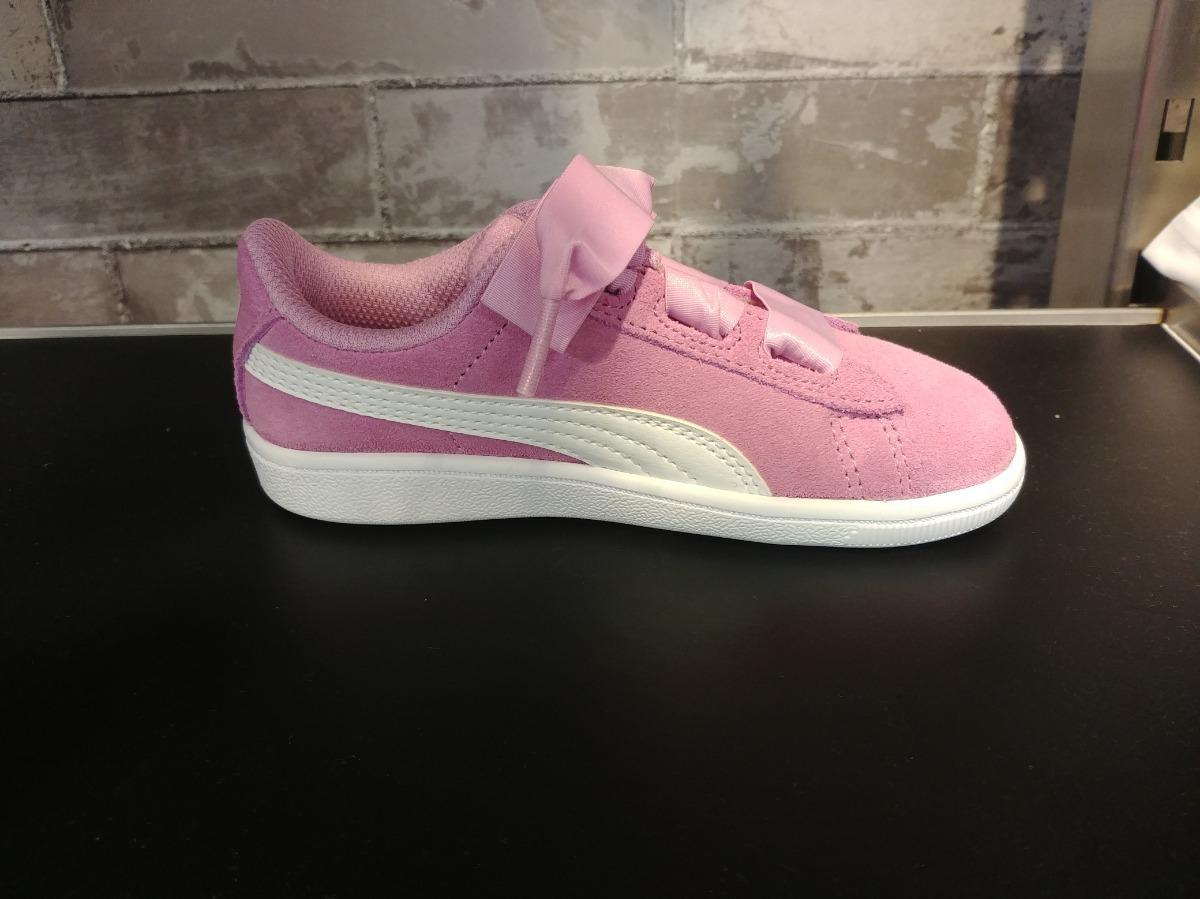 e10b22c3be6 tenis puma vikky ribbon rosa niña originales nuevos a meses. Cargando zoom.