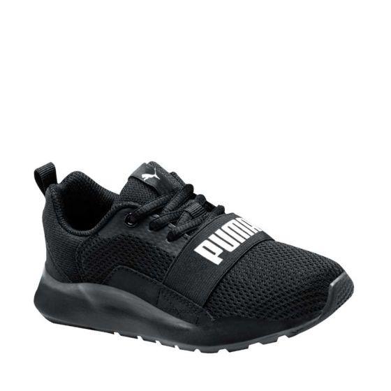 zapatos puma negros